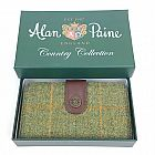 view Alan Paine Compton Ladies Large Tweed Purse Landscape details