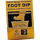 view Foot Dip Sign details